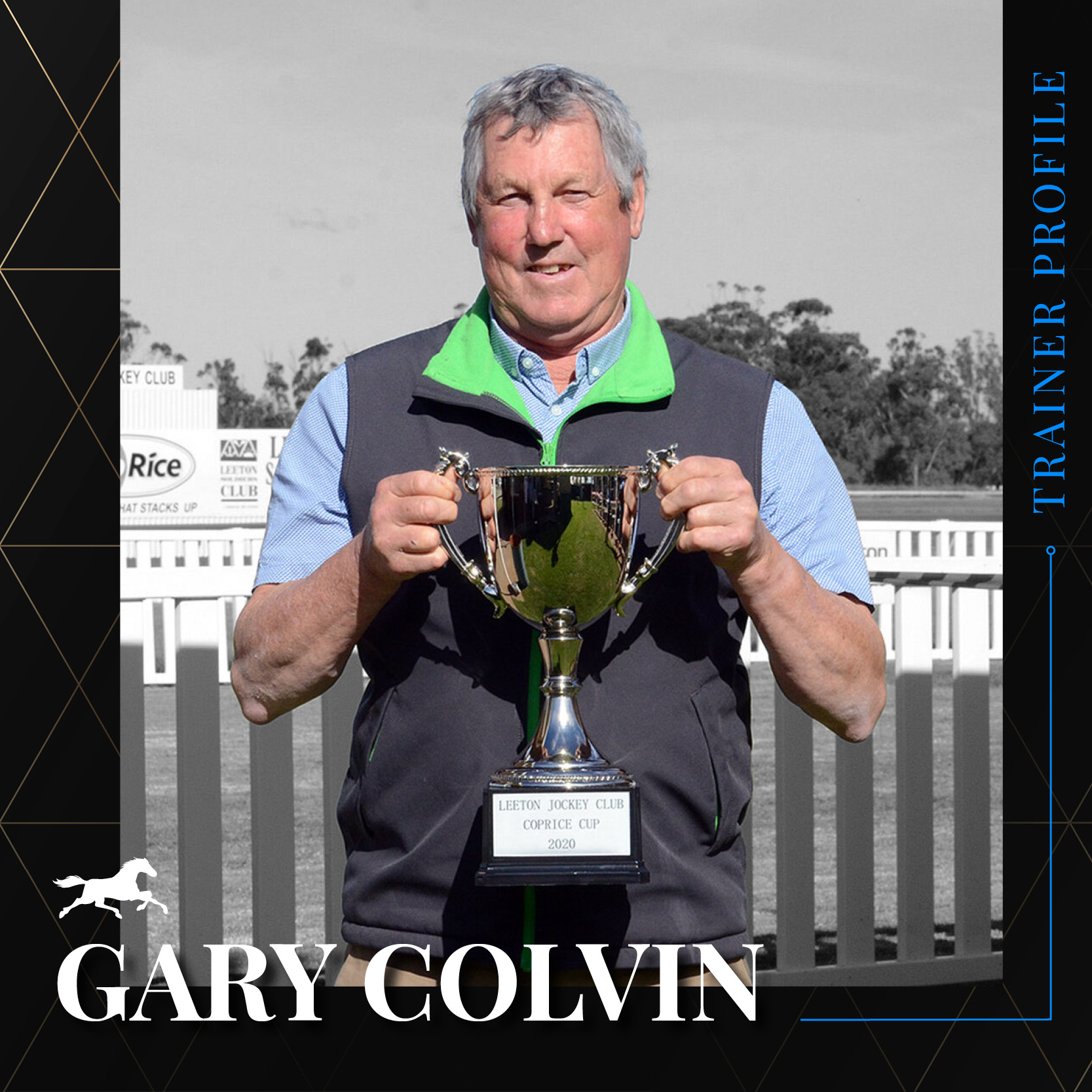 Trainer Profile – Gary Colvin